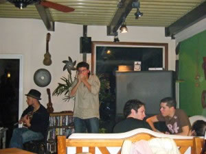 Live music at V&S Hostel
