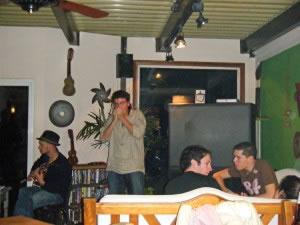 Live music at V&S Hostel