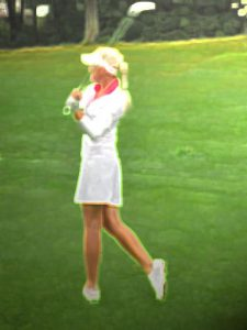 Golf: Putting in Palermo