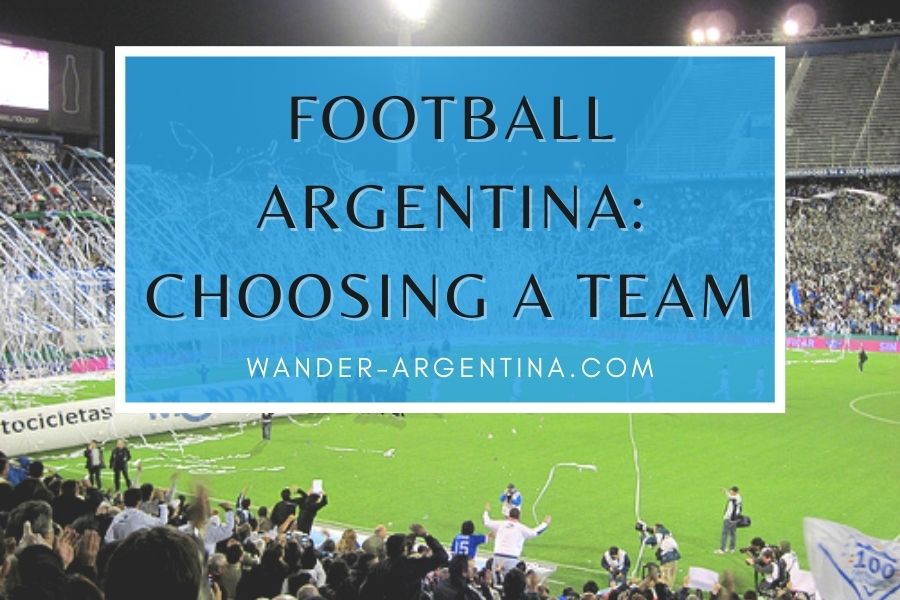 Argentina Football: choosing a team to support