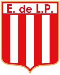 The logo of Estudiantes de la Plata soccer team