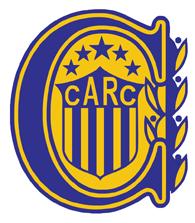 The logo of Rosario Central football club