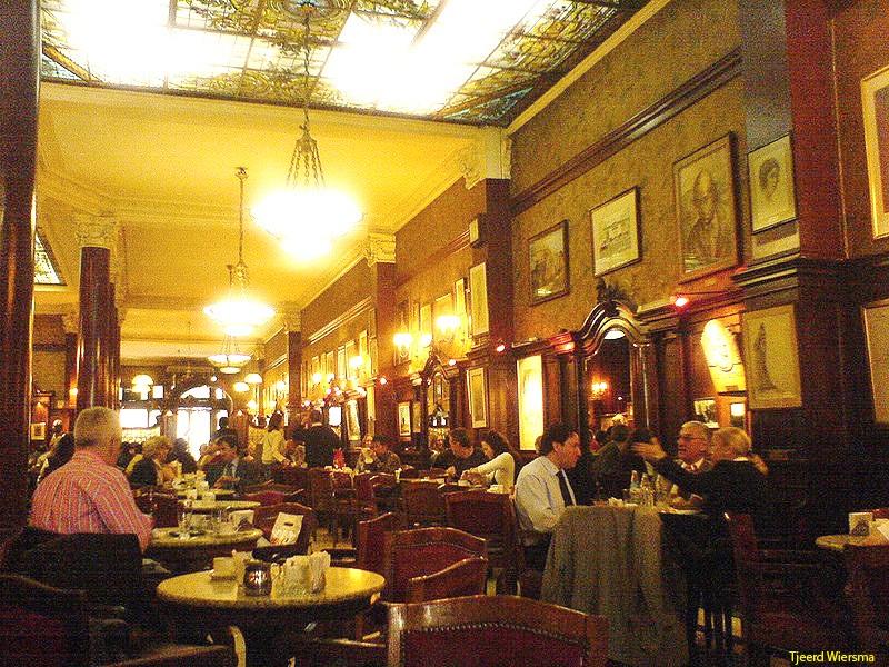 Grand Café Tortoni: An Iconic Avenida de Mayo Cafe