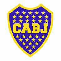 The blue and yellow logo of Argentina's Boca Juniors Football club, Argentina's most popular team.