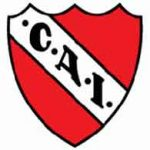 The logo of Argentina's Independiente Football club