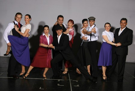 A dance troupe from Buenos Aires dance club