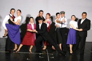 Dance troupe from the Buenos Aires Dance Club