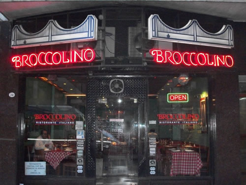 Broccolino — Italian Downtown with a Touch of Brooklyn