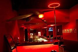 THe bar at Palermo Viejo's Mundo Bizarro bar
