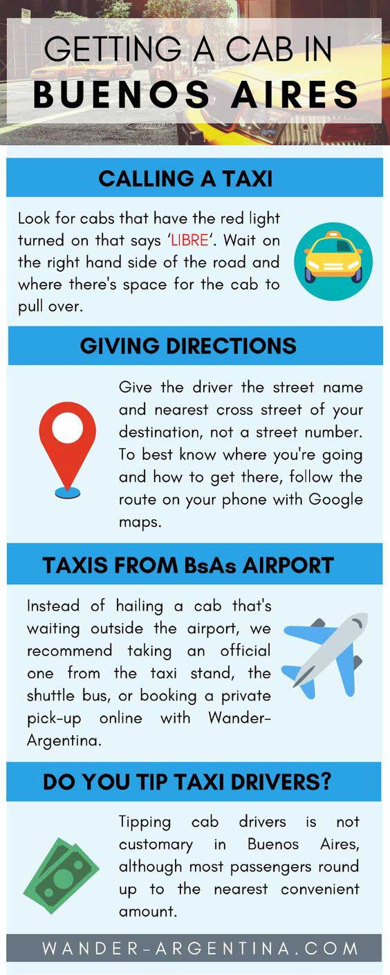 How to get a taxi in Buenos Aires (instructions)