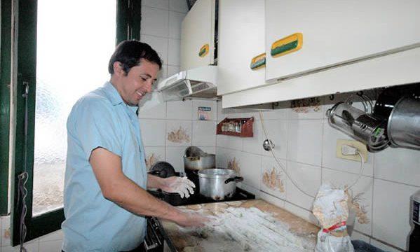 A ñoquis making ñoquis in Argentina