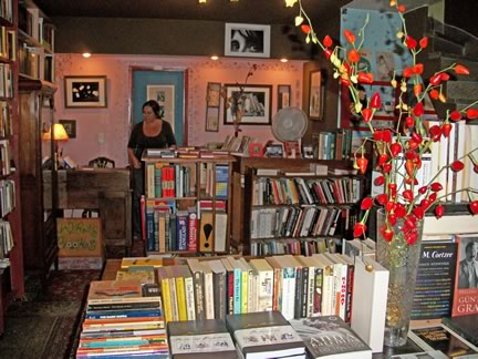 Walrus Books, an English bookstore in San Telmo, Buenos Aires