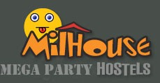 An alternative version of the Milhouse Logo highlights its party appeal
