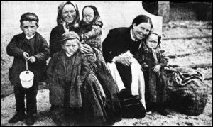 Irish immigrant women and their small children in Argentina in the 1890s.
