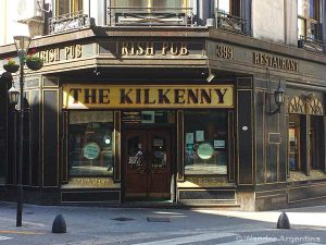 Kilkenny Pub in downtown Buenos Aires, Argentina