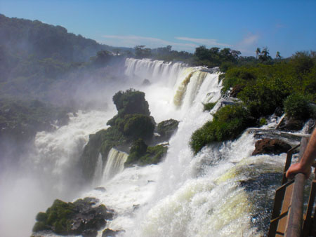 Iguazu Falls from the Argentine side of Iguazu Falls National Park