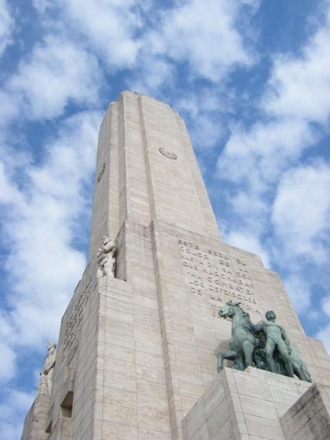 Monumento a la Bandera or Flag monument in Rosario, Argentina