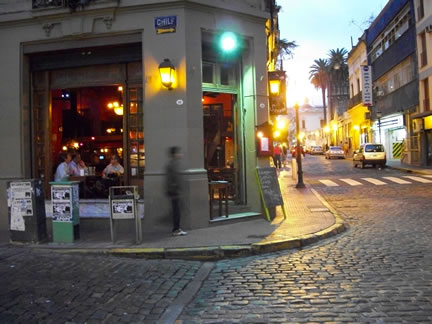 Seddon Bar sits on the corner of Defensa and Chile Street in Buenos Aires' San Telmo neighborhood