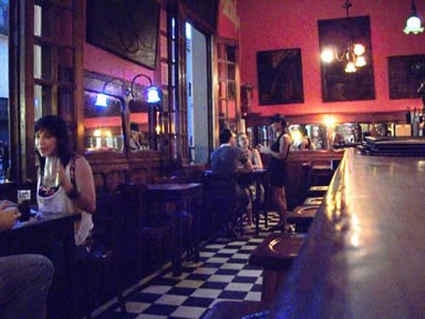 The interior of Bar Seddon in the San Telmo neighborhood of Buenos Aires