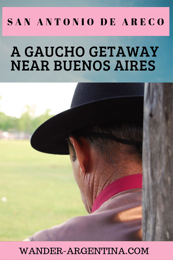 A cowboy in Buenos San Antonio de Areco, a cowboy town on the Argentine Pampas