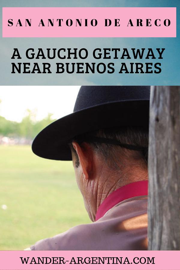 A cowboy in Buenos San Antonio de Areco, a cowboy town on the Argentine Pampas