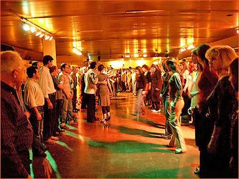 tango classes at la viruta in Buenos Aires