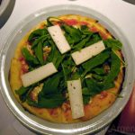 A picture of the personal pizza at Filo restaurant in Buenos Aires