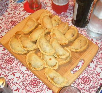 Argentina style empanadas