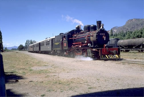 The Old Patagonian Express Today
