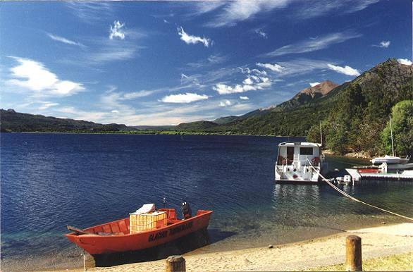 The little beach in the town of Esquel, Chubut, Argentina photo/wiki/public domain