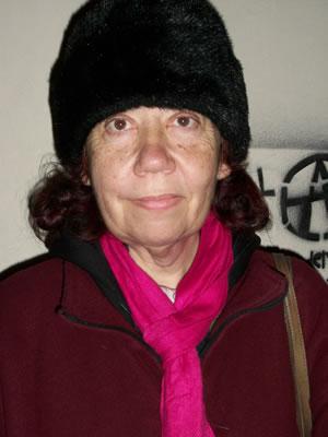 Porteño Corner — Genoveva Grisolia, Homeless Poet