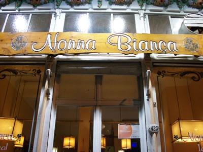 Nonna Bianca ice cream store in San Telmo, Buenos Aires