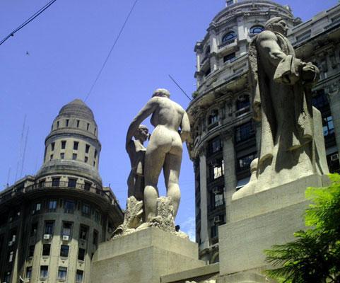 Diagonal Norte—La Equitativa del Plata Building