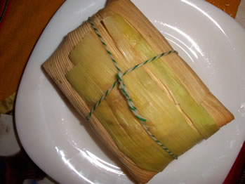 A humita is a northern Argentine food similar to a tamale. At La Carretería restaurant in San Telmo