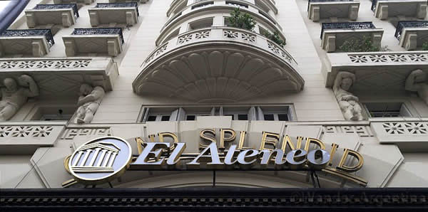 The exterior of the El Ateneo Gran Splendid bookstore