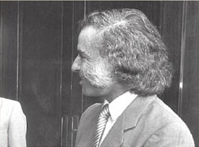 Carlos Menem in 1983 before he was the president of Argentina