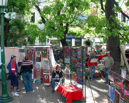 San Telmo Fair Shopping Tips
