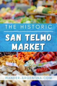 San Telmo Market Fruits & Vegetables