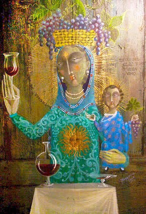 The Virgen of Carrodilla is the Celestial Patroness of the Mendoza Vineyards