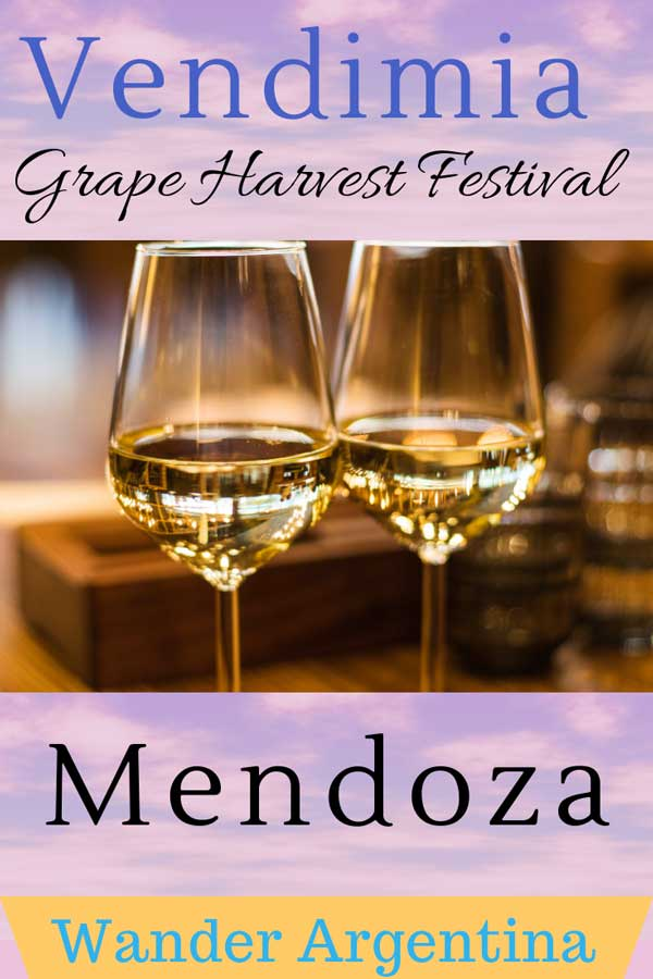 Vendimia — Mendoza Argentina's Grape Harvest Festival (that's code word for wine!)