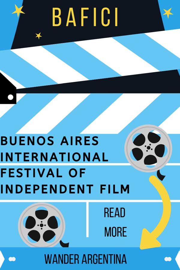 BAFICI is the Buenos Aires International Festival of Independent Film is an annual event featuring independent film in Argentina.