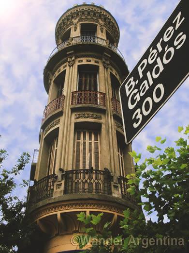 Torre de Fantasma in La Boca Buenos Aires