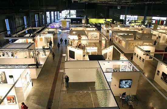 A birdeye view of Artba, Buenos Aires annual art fair
