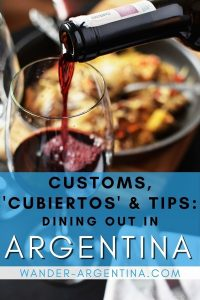 Dining out in Argentina