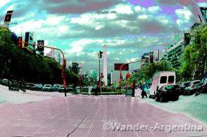 Foto of the Week: 9 de Julio and the Obelisk