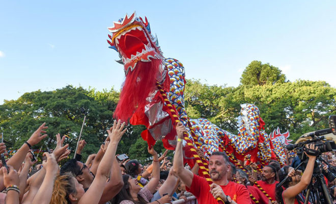 Chinese New Year Celebrations in Buenos Aires