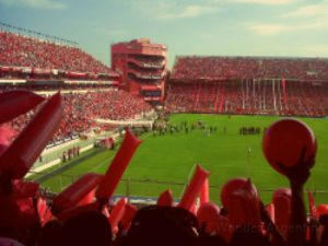 A Football/soccer stadium in Buenos Aires. Book your game with Wander Argentina today.