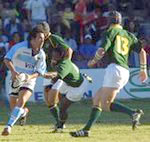 A picture of a rugby game in Buenos Aires