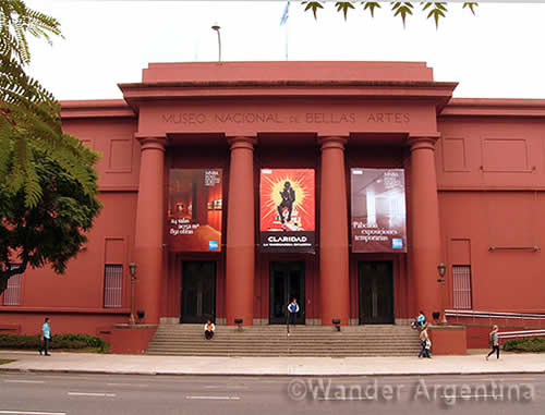Buenos Aires' Museum of Fine Arts, or el Museo de Bella Artes is one of South America's premiere Fine Art Museums. Best of all for Budget Travelers, entrance if free to visitors. Read about Buenos Aires' Museum of Fine Arts on Wander Argentina