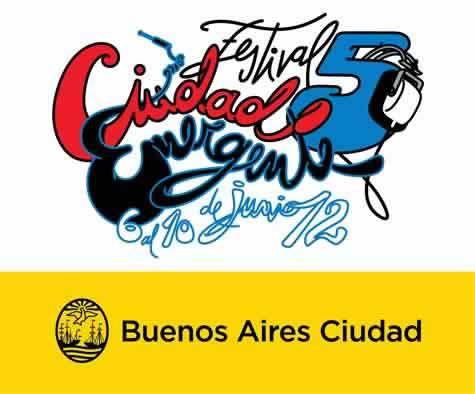 Flyer for Buenos Aires Ciudad Emergente Festival 2012